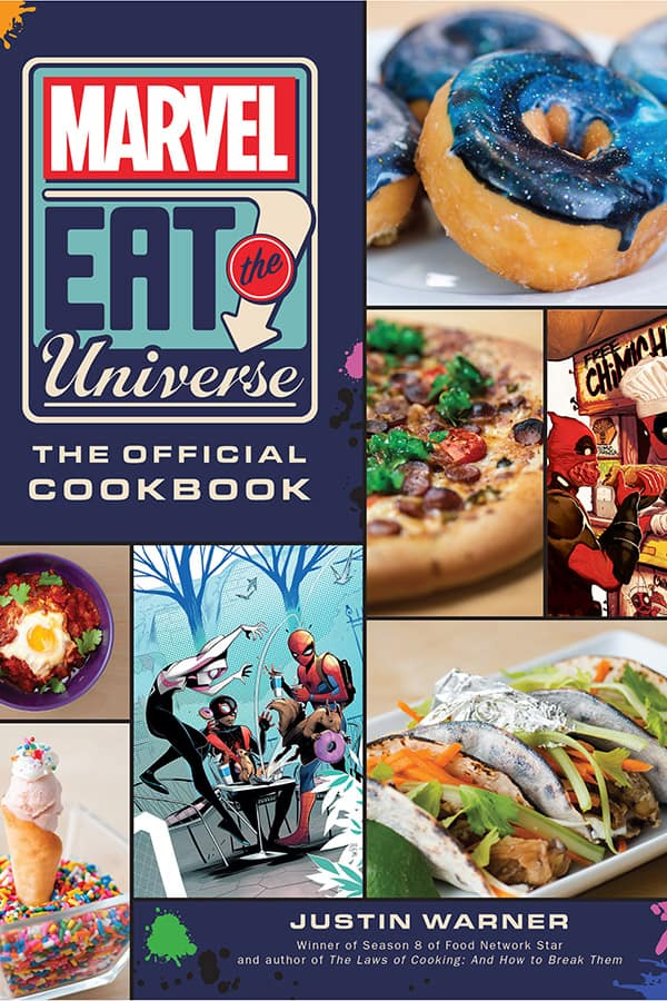 The Marvel Eat the Universe Cookbook
